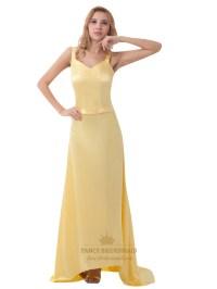 Spaghetti Strap Prom Dresses - Eligent Prom Dresses