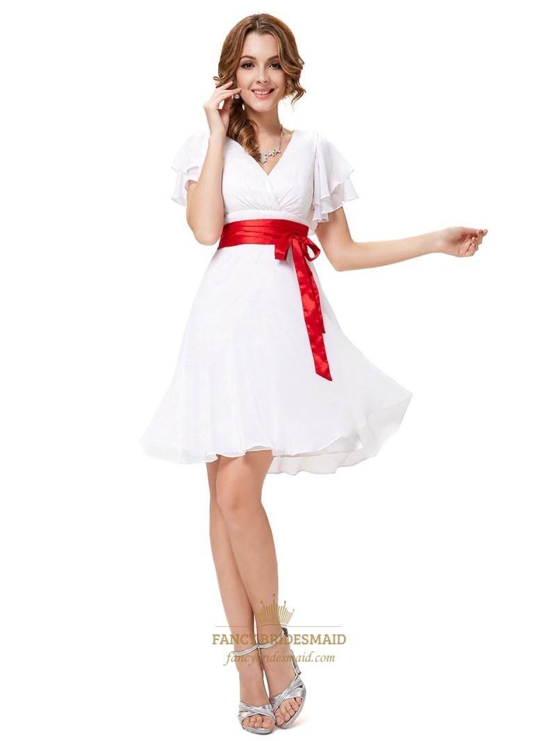 Large Of White Bridesmaid Dresses
