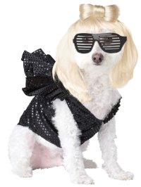 Dog Lady Gaga Costume - PET20111 - Fancy Dress Ball