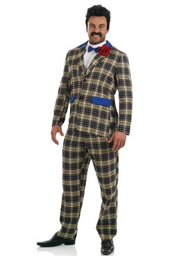 Adult Holiday Camp Boss Ted Bovis Costume Fs4022 Fancy