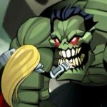 She Thor vs. Hulk Zombie