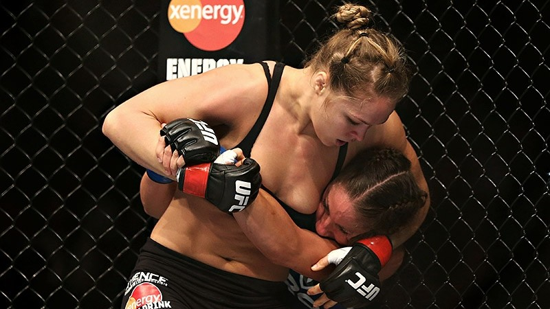 "Ronda Rousey: ""she had a fantastic rack,"""