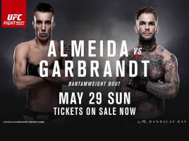 UFC® Fight Night 88 Almeida vs Garbrandt