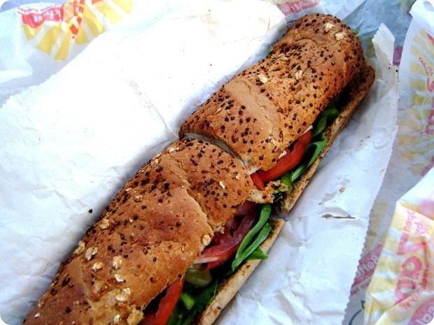 Healthy Travel Tips  Win a Subway On-the-Go Kit! - fANNEtastic food