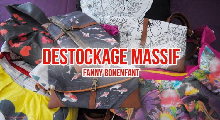 Déstockage massif fanny bonenfant illustrations, sacs, sacoches, coussin !