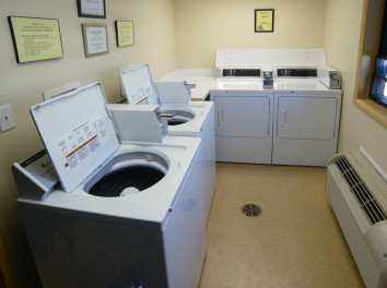 Coin-Operated Laundry Room