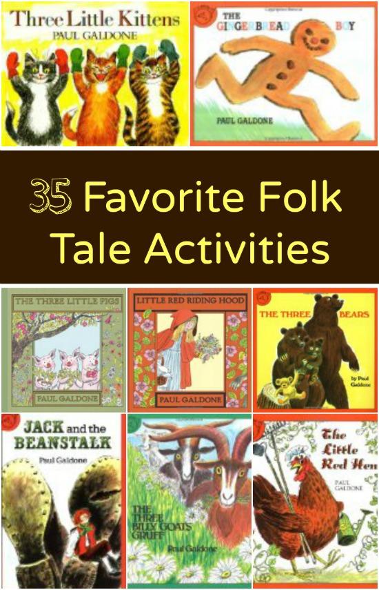 Favorite Folk Tale Activities - Fantastic Fun  Learning