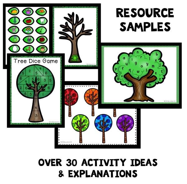 Tree Theme Preschool Activities - Fantastic Fun  Learning