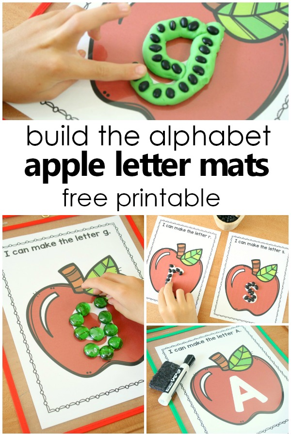 Apple ABCs Preschool Alphabet Printables - Fantastic Fun  Learning