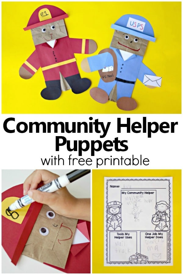 Community Helper Puppets - Fantastic Fun  Learning