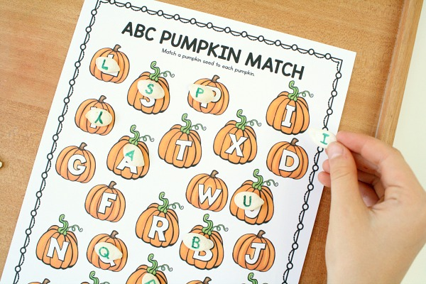 Pumpkin Theme Preschool Activities - Fantastic Fun  Learning
