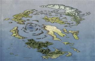 Fantasy Island Map for Lorhe