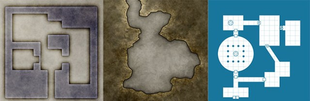 How to generate pretty dungeon maps for d&d battlemaps