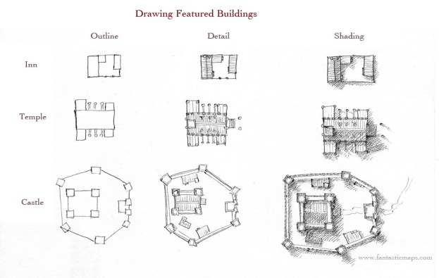 Highlighting Featured Buildings – Shape, Detail and Contrast