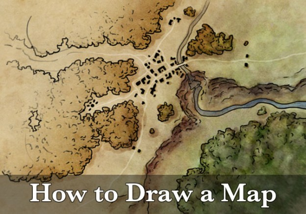 How to draw a map