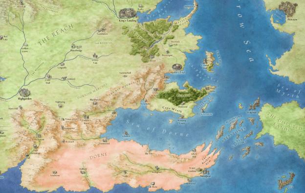 Where is Dorne?
