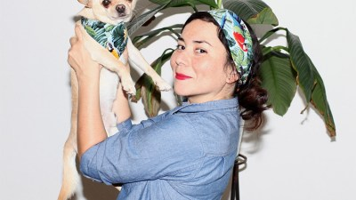 """""""peSeta for Peludos"""": pañuelos para mascotas y dueños"""