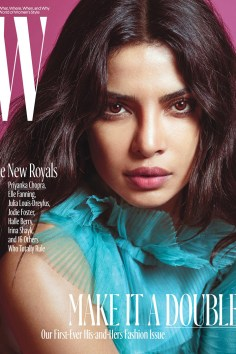 Priyanka Chopra / New Royals @ W Magazine