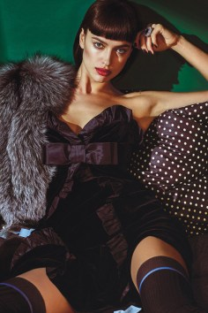 Irina Shayk / New Royals @ W Magazine