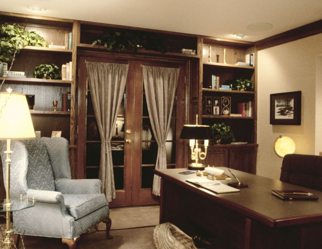 Country Home Office Design Ideas