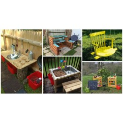 Assorted A Playground A Playground Your Kids Diy Ideas How To Transform Your Backyard Your Backyard Diy Landscaping Ideas Tiny Backyard Diy Ideas Diy Ideas How To Transform Your Backyard