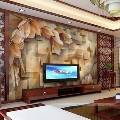 16 Creative 3D Living Room Wallpaper Ideas That You Should Check