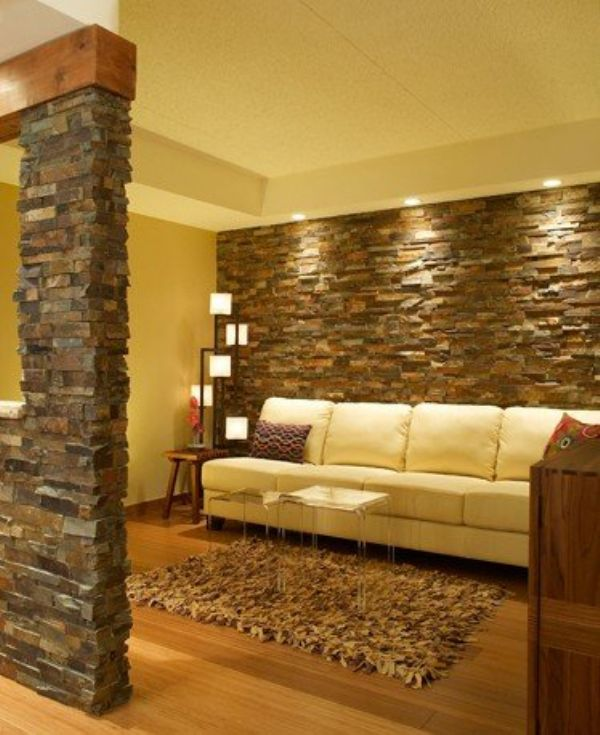 3d Wallpaper For Master Bedroom 15 Artistic Stacked Stone Wall To Catch Your Attention