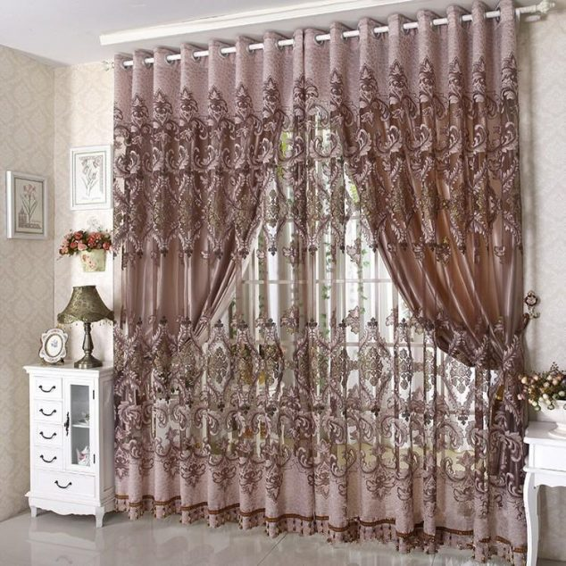 16 Marvelous Curtains That Spell Luxury in Living Room - luxury curtains for living room