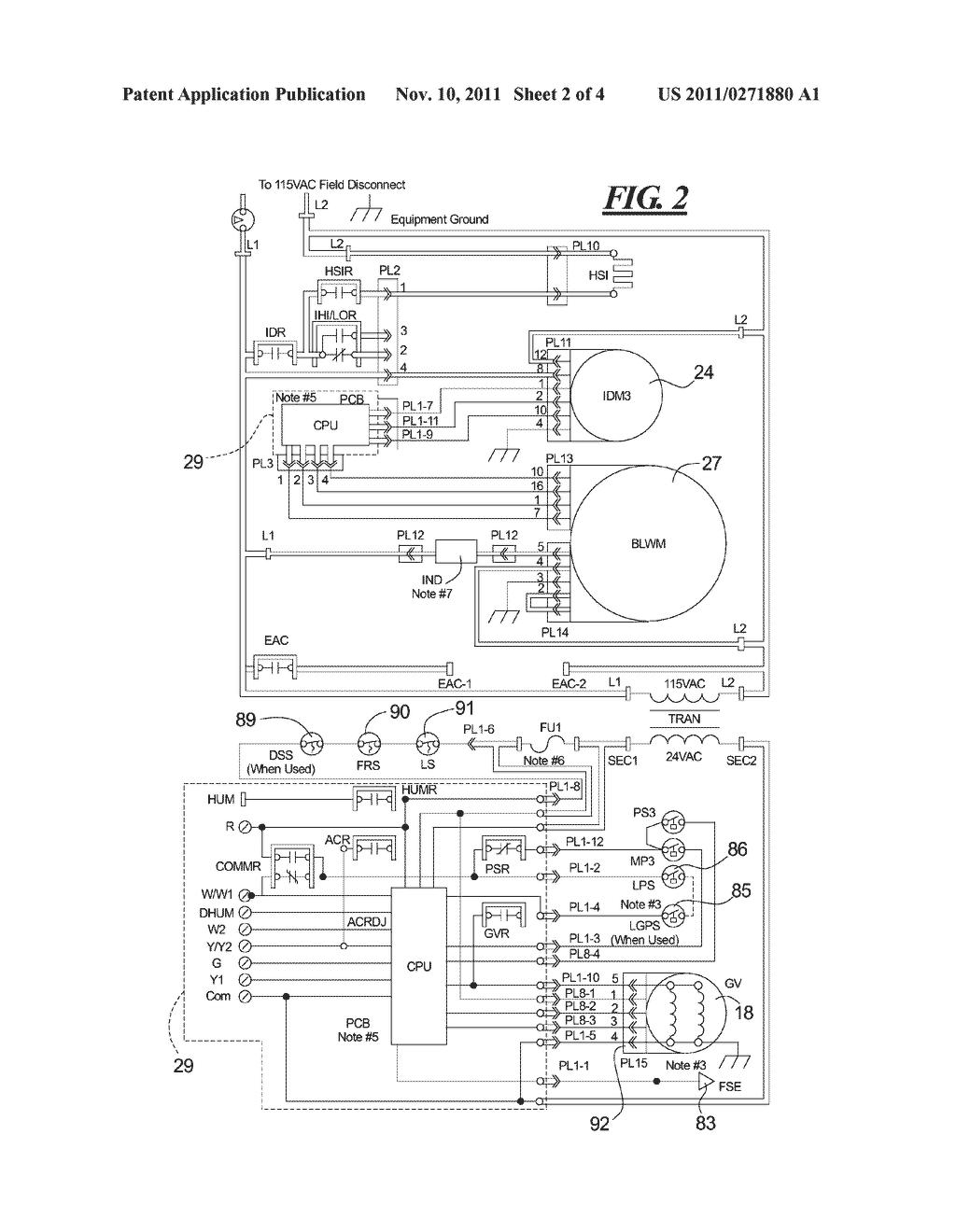 24 volt furnace transformer wiring diagram