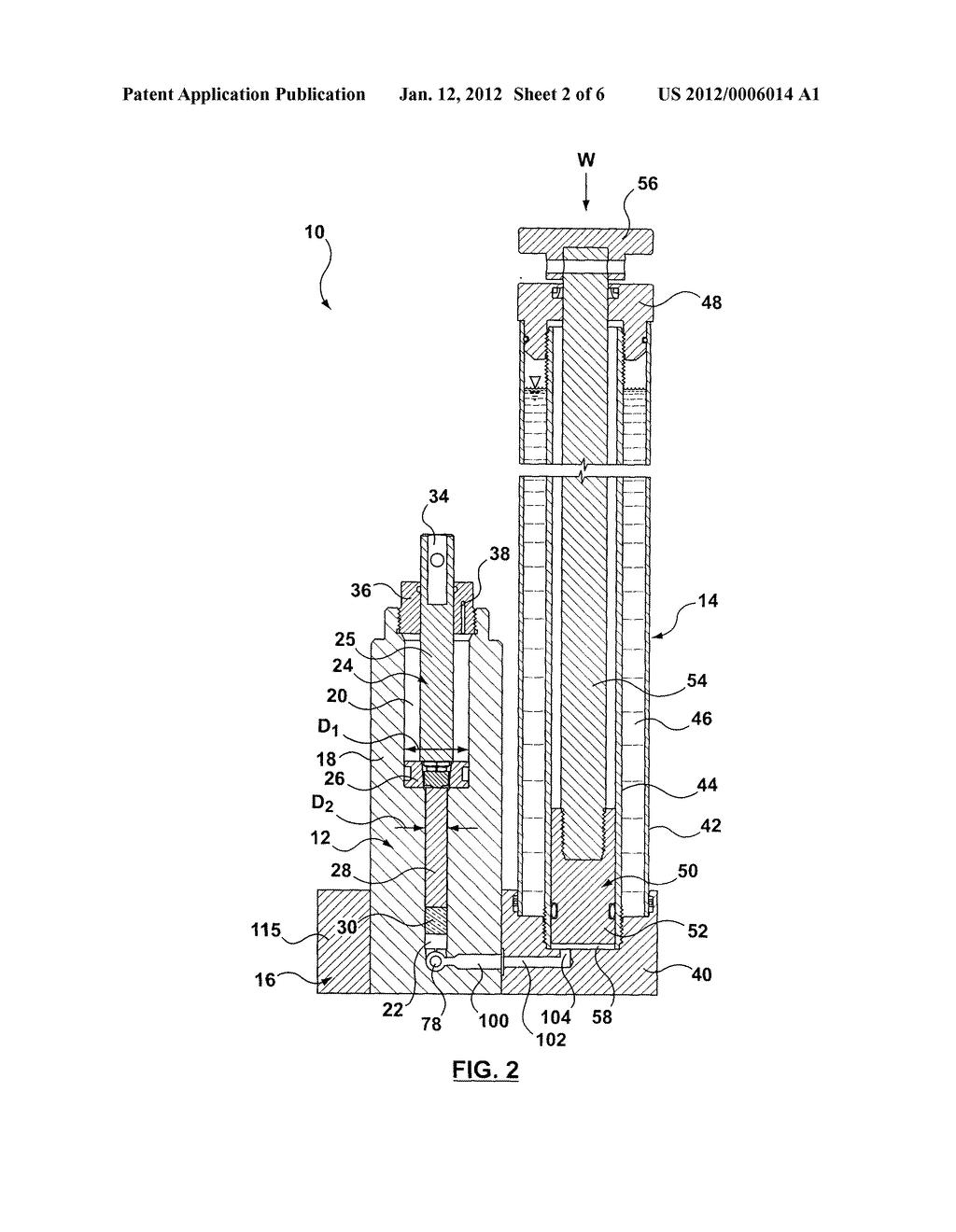 hydraulic floor jack diagram