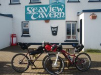 cycling to Malin Head Sea view tavern Malin Head