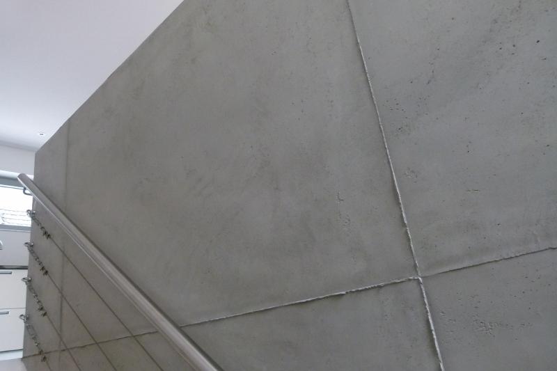Betonoptik betonlook maler bonn farbefreudeleben - Betonlook wand ...