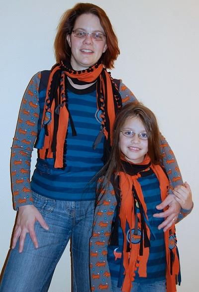Schnittmuster Damenshirt, Kindershirt farbenmix