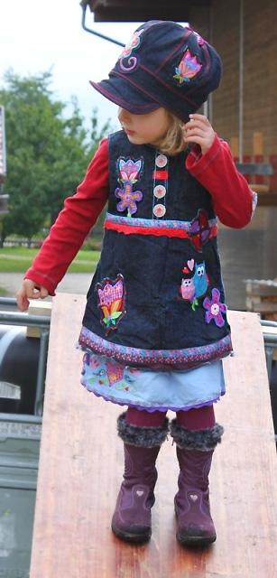 ARWEN Schnittmuster Kleid farbenmix