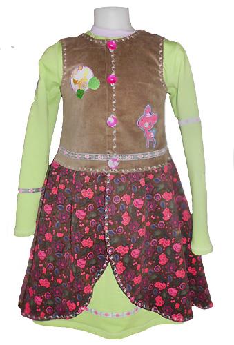 OLIVIA Schnittmuster Kleid farbenmix