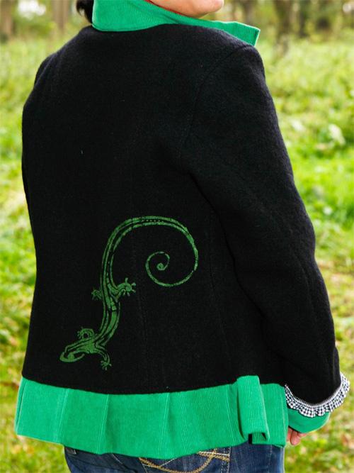JACKIE Schnittmuster Damenjacke farbenmix