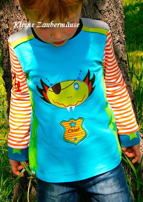 Shirt nach dem Schnittmuster HILDE von farbenmix selber nähen
