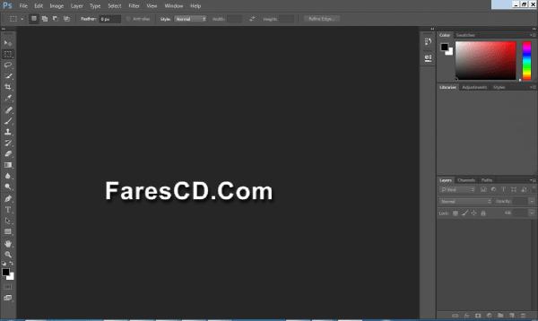 تطبيق نسخة محمولة لبرنامج الفوتوشوب | Adobe Photoshop CC 2014 15.2.3 Portable نسخة-محمول�