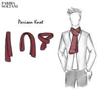 7 classic ways for men to tie scarves | Fariba Soltani ...