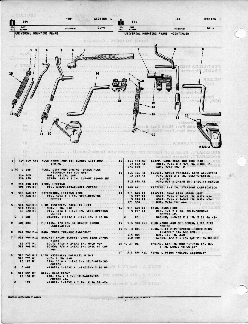 farmall cub final drive diagram
