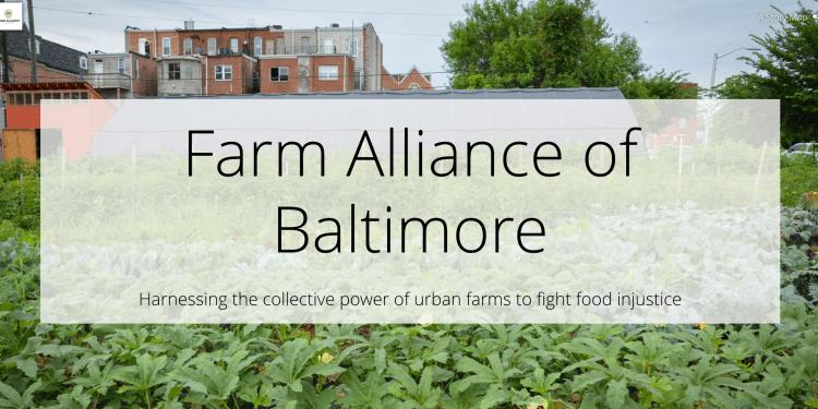 A Farm Alliance Webinar Briefing: Farmers Feeding Baltimore