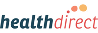 logo for HealthDirect website