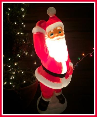 Santa Baby, Bring Me A Blow Mold! Farmgirl Bloggers