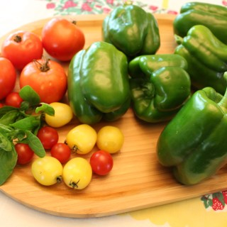 Garden Fresh Stuffed Green Peppers