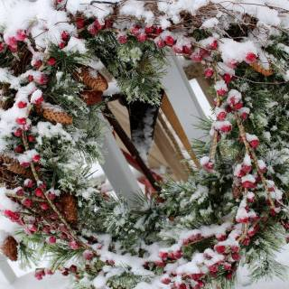 Christmas Decorating at the farm — Day 1