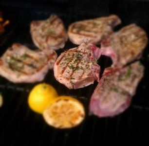 Grilled Pork Chops 2 - Fabio Viviani