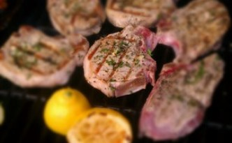 Grilled Pork Chops 2 - Fabio Viviani