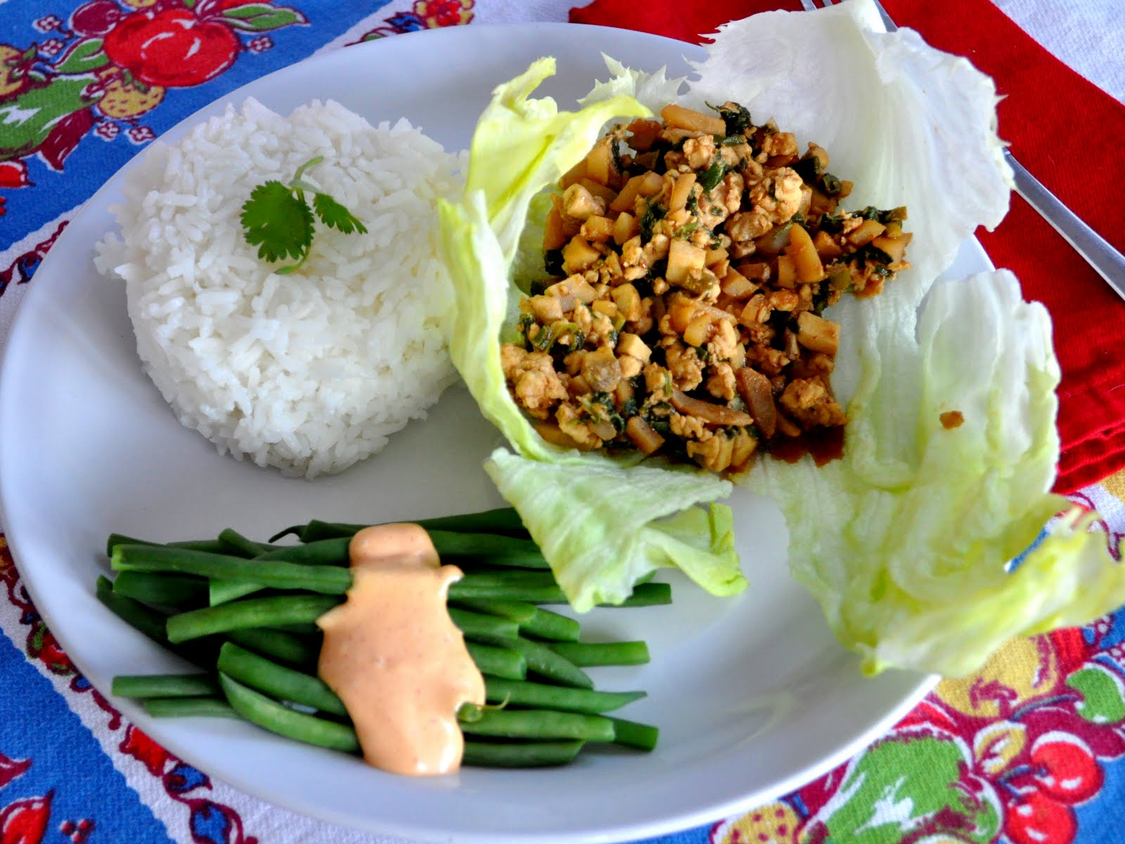 Chinese Chicken Wrap Chicken Lettuce Wraps