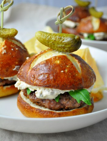 Surf & Turf Sliders via farmgirlgourmet.com