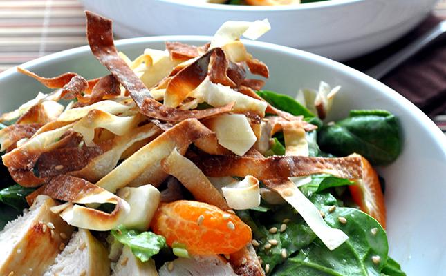 Chinese Chicken Salad   FarmgirlGourmet.com
